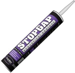 Auralex Acoustics acoustic caulk soundproof