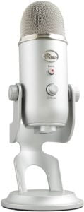 Blue Yeti soundproof microphone