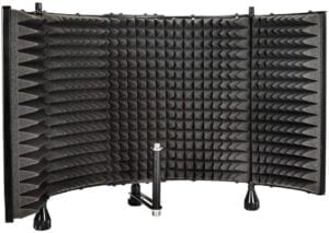 Monoprice microphone sound isolation foam shield