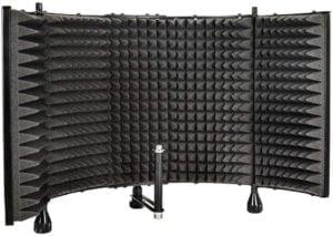 Monoprice microphone sound isolation foam shield