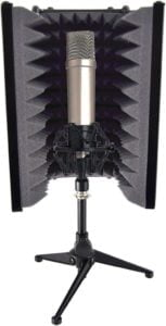 Pyle PSMRS08 soundproof mic isolation shield