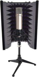 Pyle PSMRS08 soundproof mic isolation shield