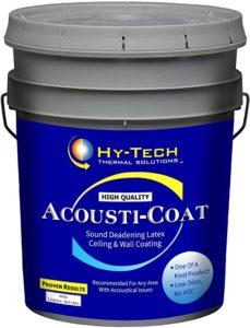acousti coat soundproof paint