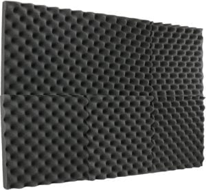 New Level egg crate foam soundproofing