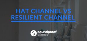 hat channel vs resilient channel vs sound isolation clips