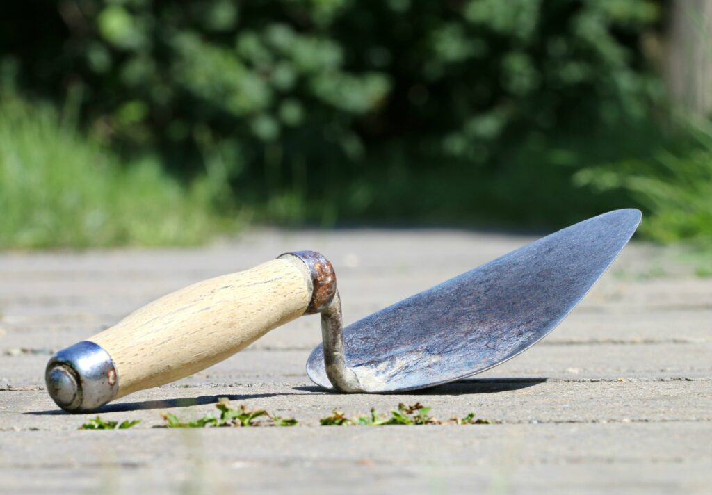 trowel to spread Green Glue substitute