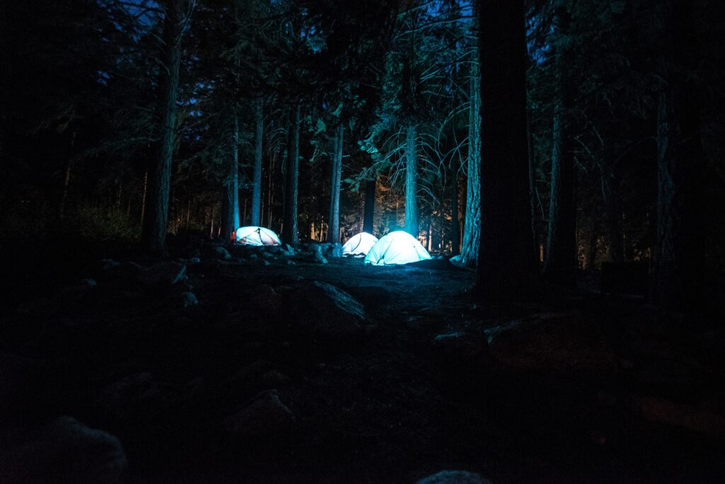 silent camping with a silent generator