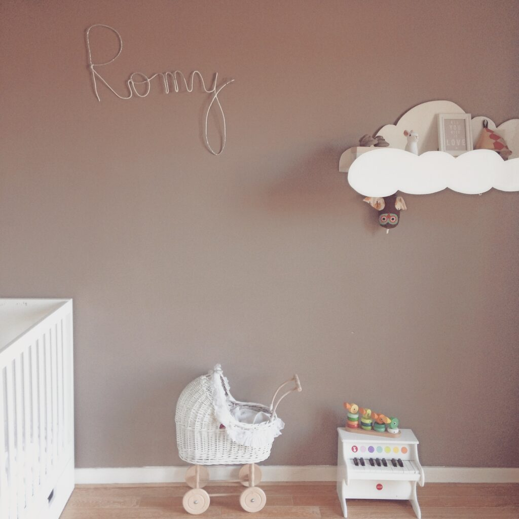 use a whisper quiet humidifier in the nursery