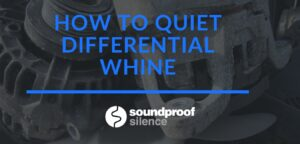 how to quiet differential whine