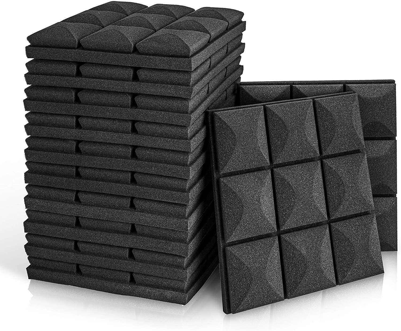 mushroom wedge acoustic foam