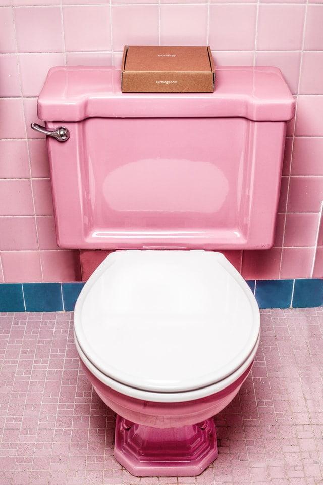 tank of toilet bubbling randomly