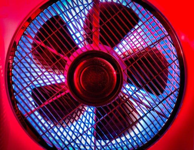 silent window fan