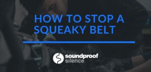 How to Stop a Squeaky Belt man inspecting