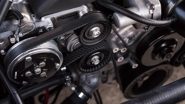 squeaky serpentine belt engine components
